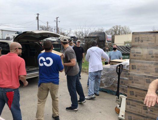 Mission Harvest Food Distribution